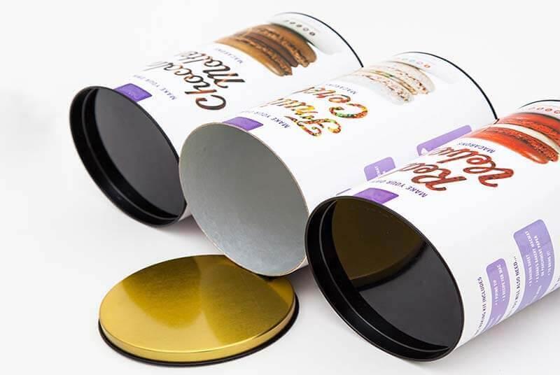 food tube packaging macarons