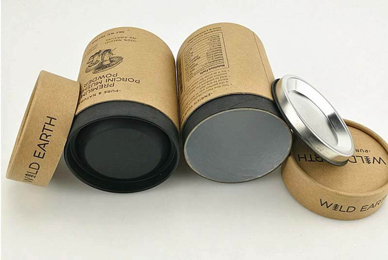 paper tube packaging with aluminum foil
