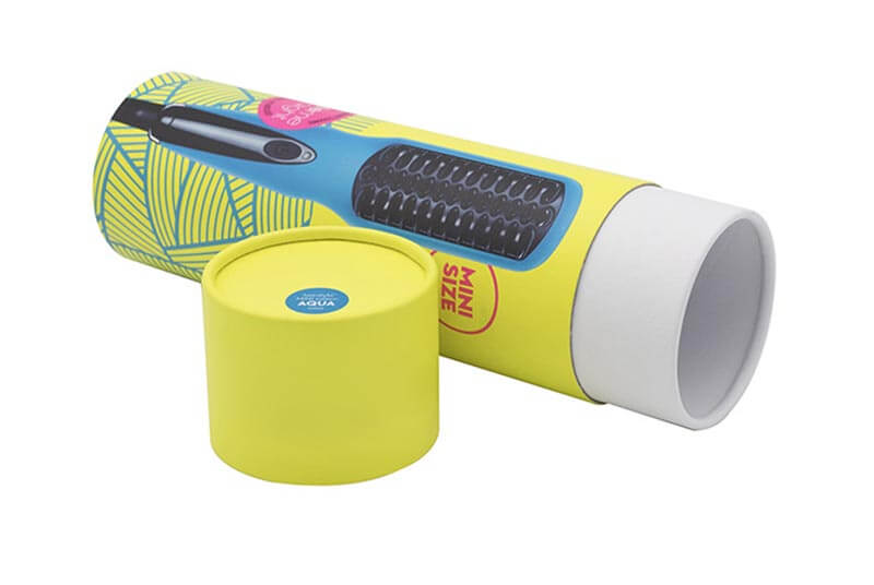 small gift boxes tube for electronic hair straightener