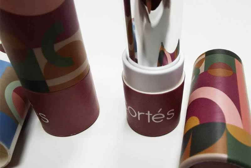 biodegradable lip gloss tube box
