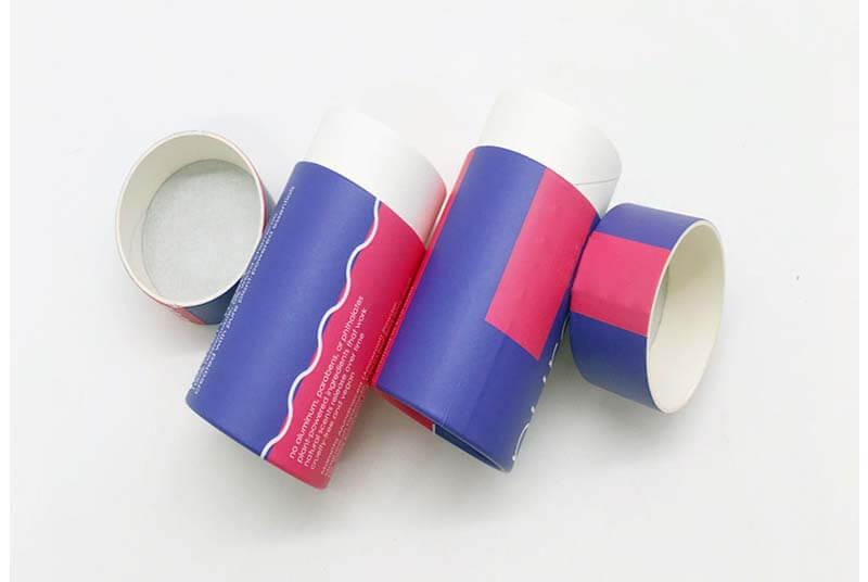 eco paper deodorant stick container
