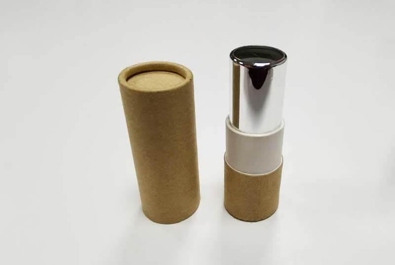 eco lip balm cardboard tubes