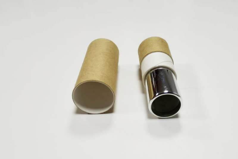 spiral lip balm tube packaging
