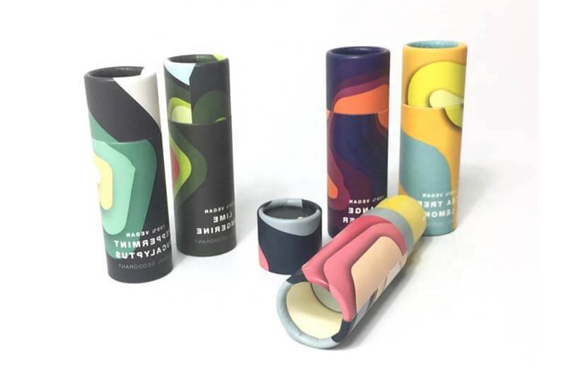 lip balm tubes empty paper luxury box