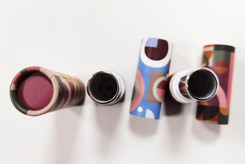 eco lipstick tubes for mate lipsticks
