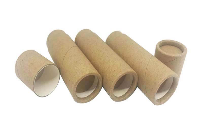 kraft paper push up paper tubes