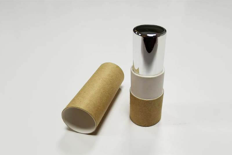 twist kraft paper lip gloss container tube