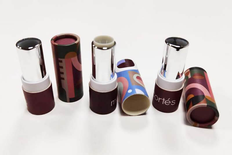 twist up style tube matte lipstick packaging
