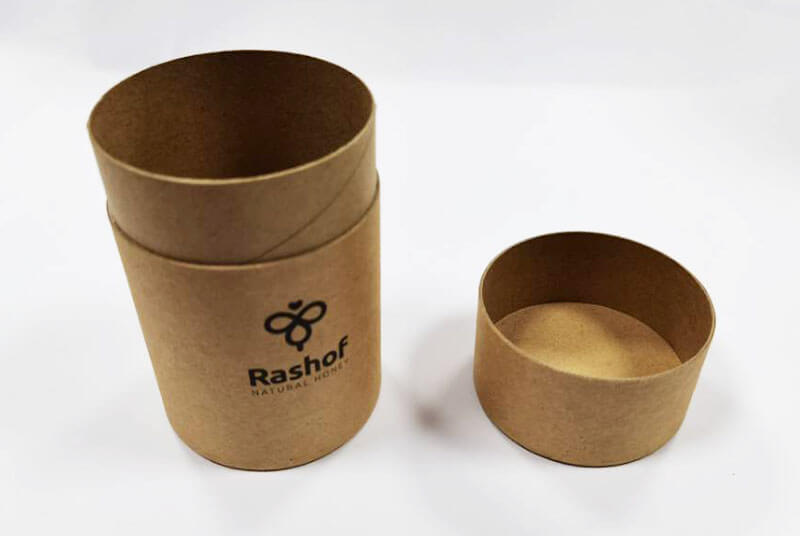 honey bottle paper jar packaging