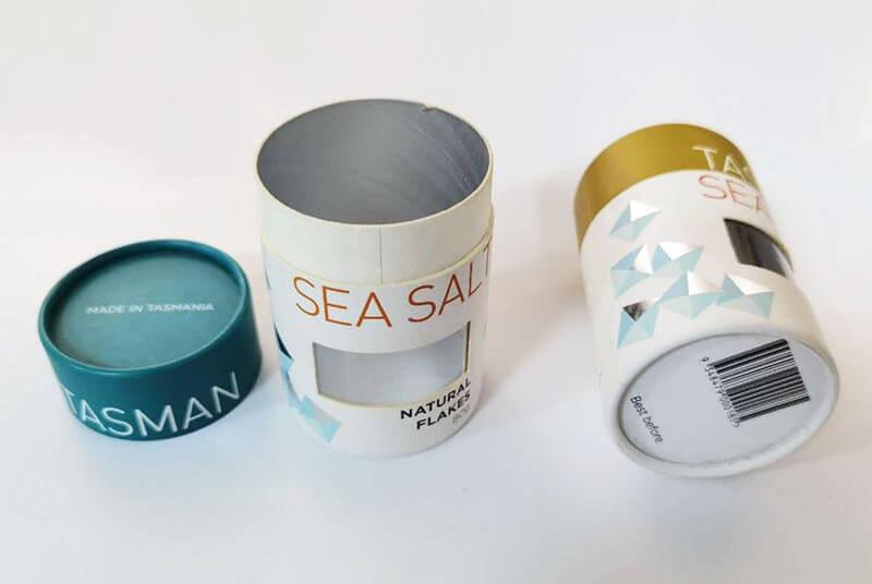 salt holder paper tube package