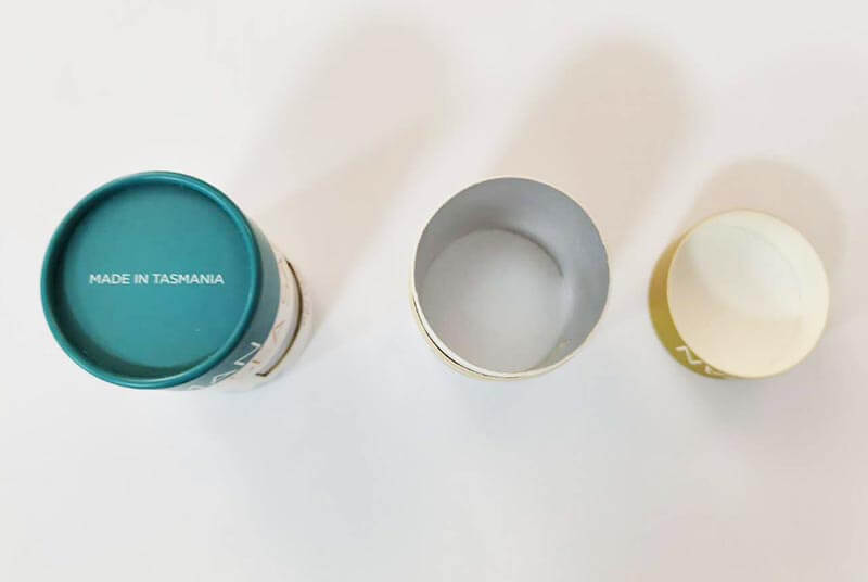 biodegradable paperboard mini salt container