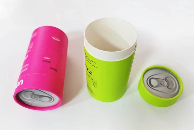 paper tube packaging for fabric