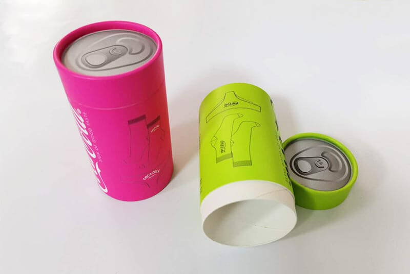 eco socks package tube