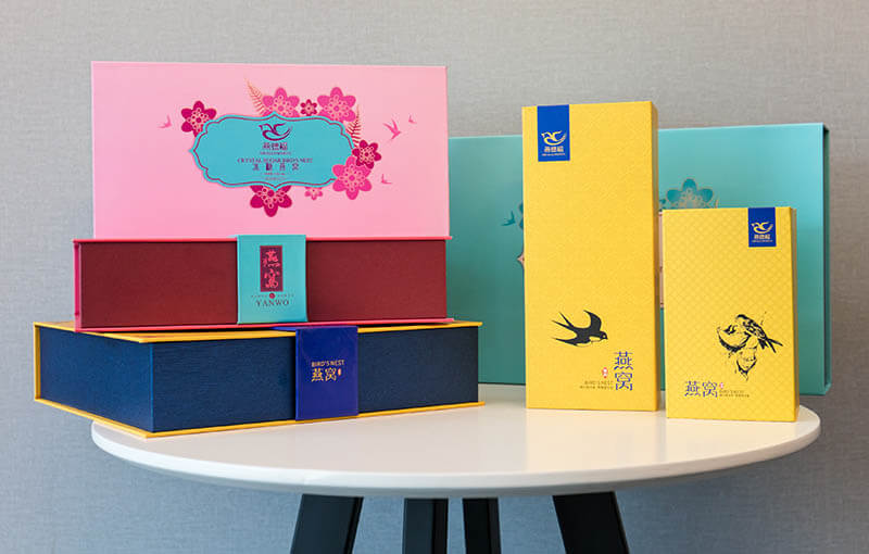 custom colorful printing cosmetic packaging boxes