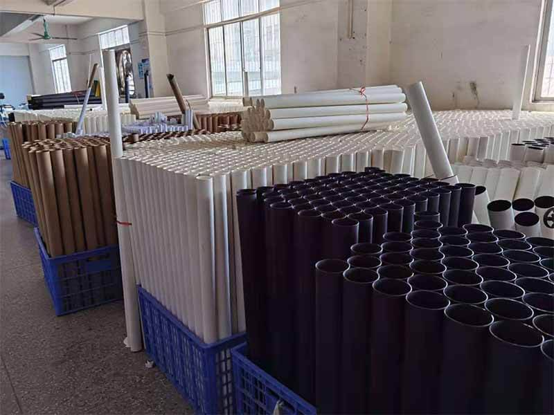 Some point on pre roll spiral cardboard paper tube in round paper box manufacturing