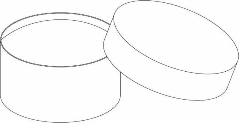 round paper box mold