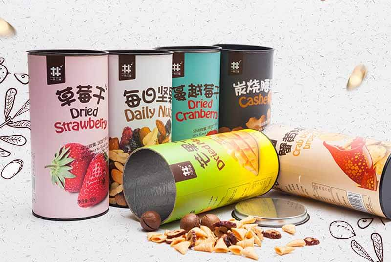paper cans for dry food packaging