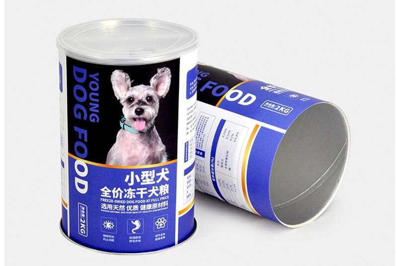 pet food storage container with easy easy pull top