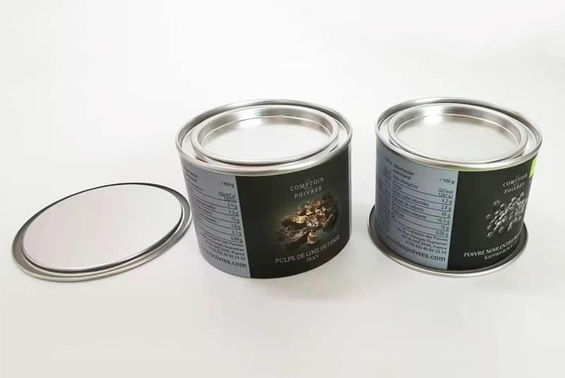 airtight paper tube for food powder