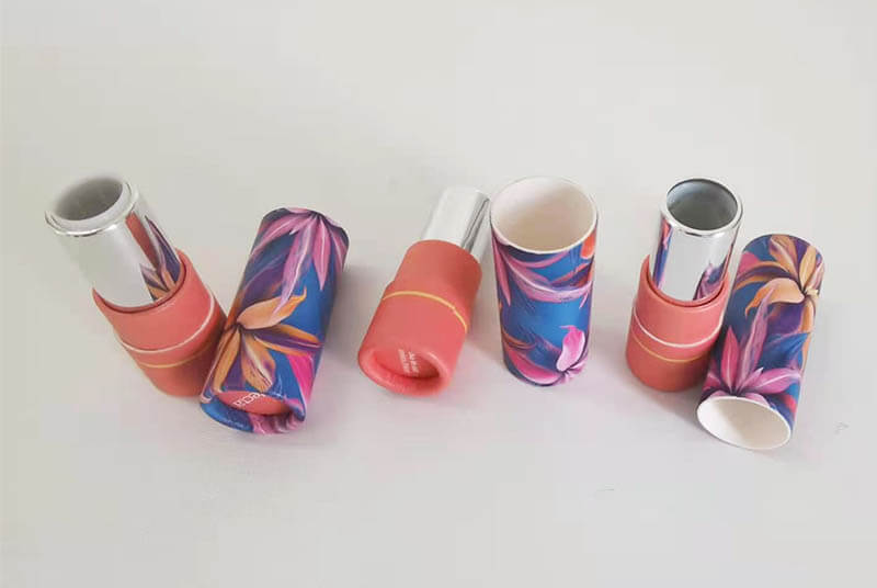 slim paper lipstick tube eco