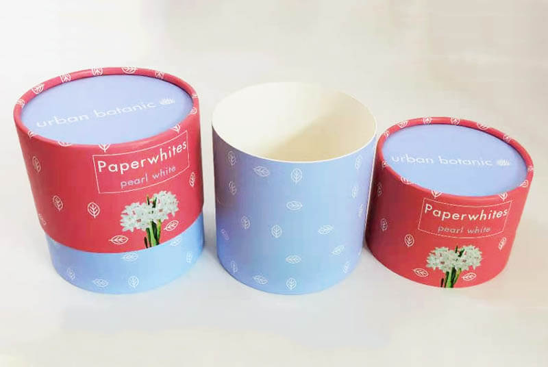 recycled paper flower pot