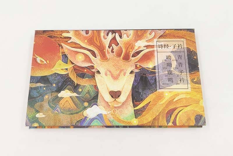 eco cardboard eyeshadow wallet