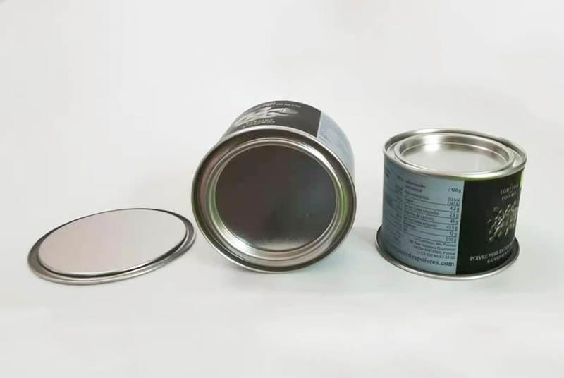 food grade paper tube plug lid airtight