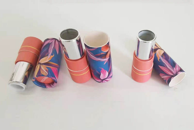 lip stick and lip liner container tubes