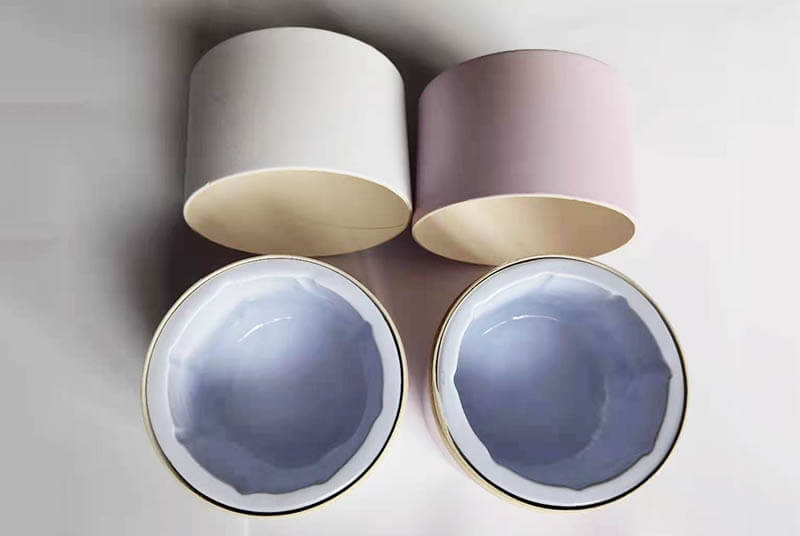 biodegradable paper small plant pots round