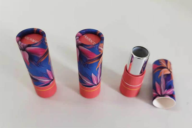 lip stick beige colour tube container