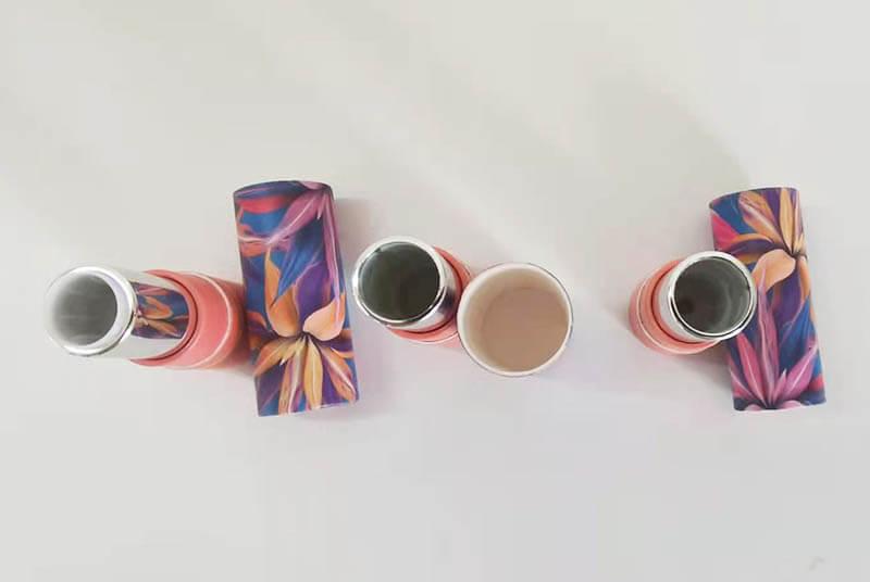 round boxes custom lip stick