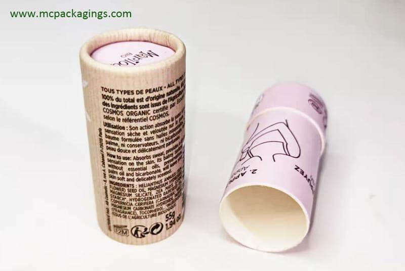 custom purple deodorant tube